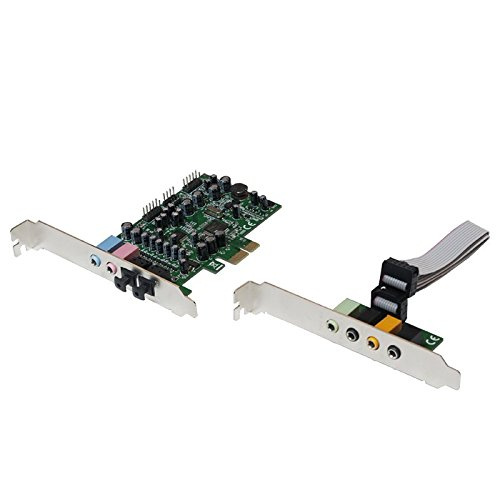 LogiLink PC0076  audio card Internal 7.1 channels PCI-E CMedia 8828 + 9882A -