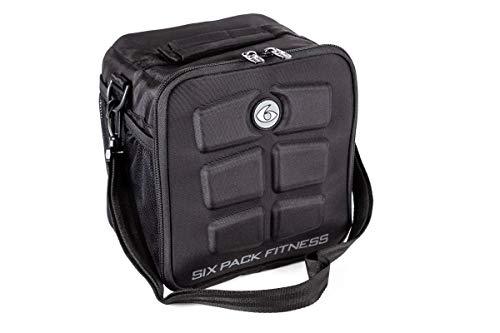 Confezione da 6 cubi fitness americane # 1 scelta nella gestione dei pasti 3 - pasto nero/grigio.