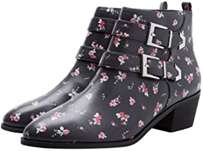 next Damen Stiefeletten mit Ziernieten  2018 Letztes Modell  Mode Schuhe Billig Online-Verkauf