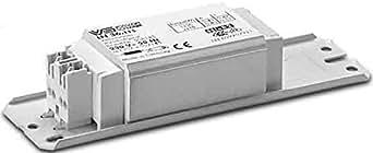 Houben 163763A + + to a, ballast, métal, 10W, intégré, gris, 35x 35x 25cm