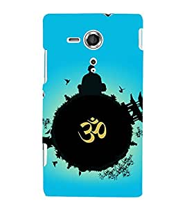 printtech Indian Om Planet Back Case Cover for One Plus X
