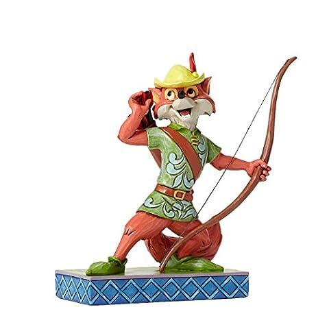 Disney Traditions 4050416 Figurine Robin des Bois Héros Figurine Multicolore 15 cm