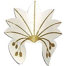 Fasching Fete Disfraz Accesorio De Samba de joyas de carnaval de Brasil, adulto tocado,