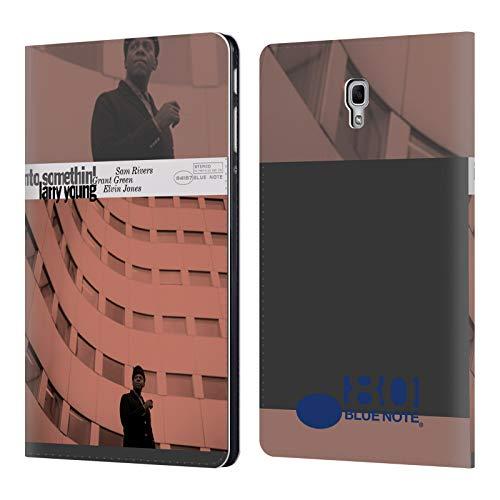 Head Case Designs Offizielle Blue Note Records Larry Young Into Somethin' Album 2 Brieftasche Handyhülle aus Leder für Samsung Galaxy Tab A 10.5 (2018) - Larry Leder