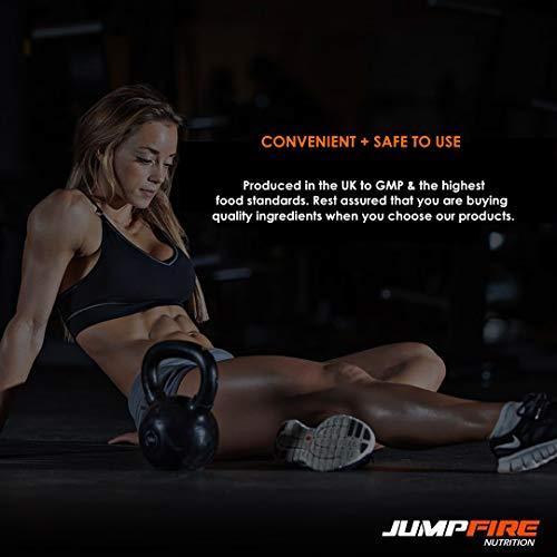 412ohqXtK%2BL. SS500  - Jumpfire Nutrition BCAA Tablets + Vitamin B6, Amino Acid, Men & Women, Intra-Workout, Pre Workout, Leucine Isoleucine Valine, 2:1:1 Optimum Nutrition Ratio