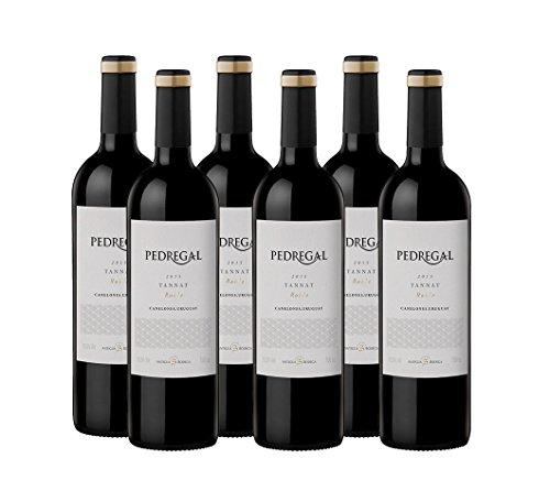 6er Weinpaket Pedregal Tannat 2015