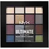 Nyx Professional Makeup Ultimate Shadow Palette, Smoky and Highlight, 13.3g
