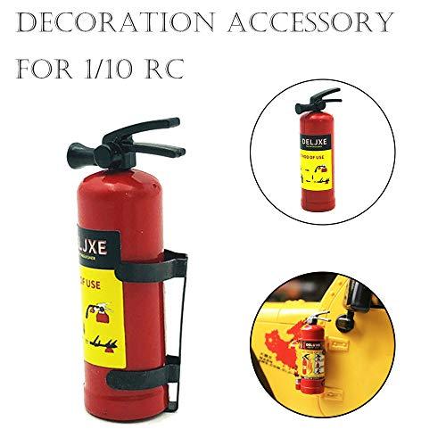 TianranRT Neu 1/10 RC Crawler Zubehör Teile Feuer Feuerlöscher Modell Für Axial SCX10 TRX4 Keychain Remote Kit