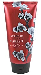 Bath & Body Works Japanese Cherry Blossom Pleasures Collection Daily High Lather Scrub 8.4 oz