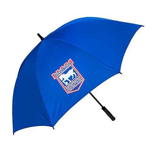 Ipswich Town Single Canopy Golf Regenschirm–Blau