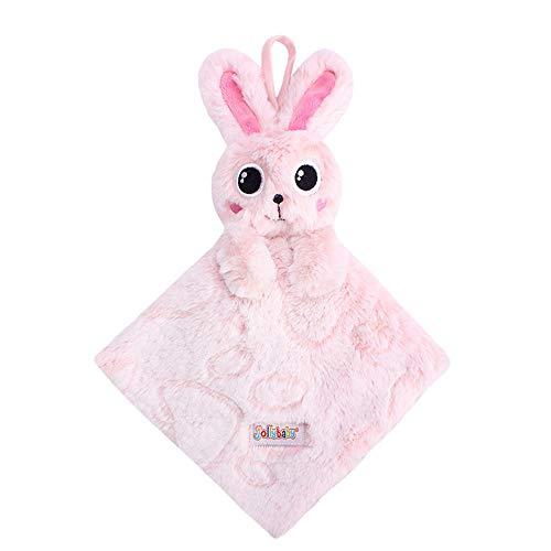 PCBS Weiche Tuch Buch Kinder Kind pädagogisches Spielzeug Baby tröstende Decke Platz plüsch Baby beschwichtigen Handtuch für Neugeborene Baby,Rabbit