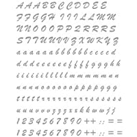 Amazon.es: letras adhesivas