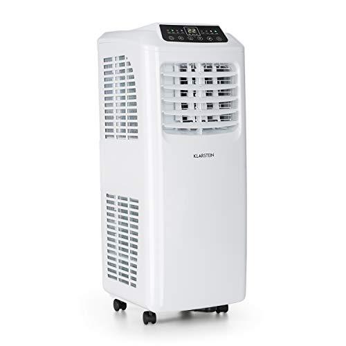 Klarstein Pure Blizzard 3 2G • Climatiseur • 7000BTU • Classe énergétique A • Entièrement Mobile • Commande Confortable • Télécommande • Écran LED • Kit de Montage • Blanc
