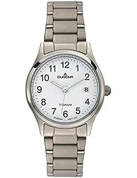 Dugena Damen-Armbanduhr Semper - Titanuhren Analog Quarz Titan 4460331