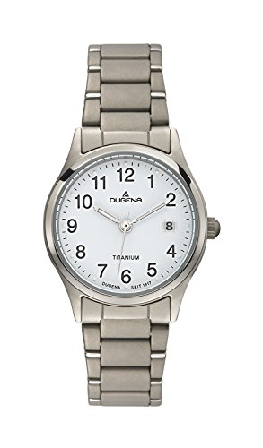 Dugena Classic Ladies Watch Quartz Watch With Metal Strap  4460331