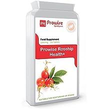 Prowise Rosehip 5000mg 120 comprimés - Supplément de soutien articulaire de haute résistance - Royaume-Uni GMP fabriqué Qualité garantie - - Convient aux végétariens et aux végétaliens