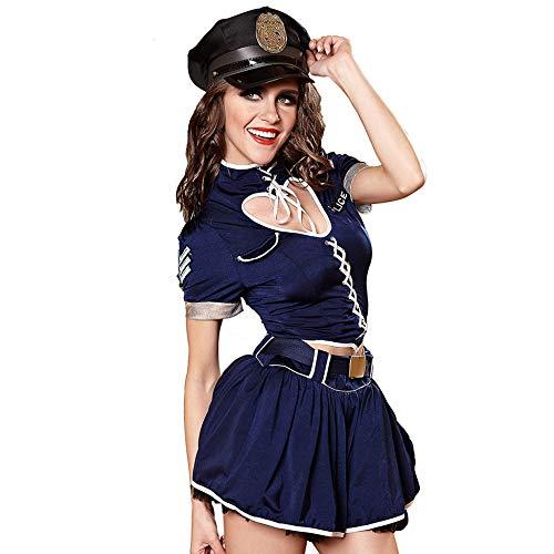 KAIDILA Polizei Kostüme Frauen Polizeiuniformen Cosplay Cosplay Kostüme Halloween Kostüme