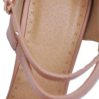 LFNLYX Donna Sandali Primavera Estate Autunno altri PU Ufficio Outdoor & Carriera Casual Stiletto Heel altri nero Rosa Bianco Beige Altri Pink