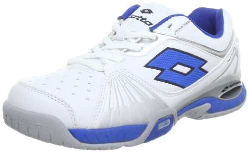 lotto-sport-raptor-ultra-iv-jr-tennis-shoes-boys-white-weiss-white-blue-size-25-35-eu