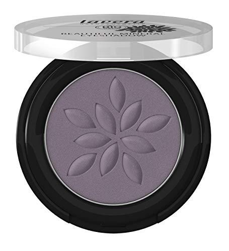 lavera Beautiful Mineral Eyeshadow -Matt'n Violet 33- Lidschatten ∙ Traumhaft sanfte Textur ∙ Vegan ✔ Naturkosmetik ✔ Natural Make-up ✔ Bio Pflanzenwirkstoffe ✔ 100% natürlich 3er Pack (3x 2 g) -