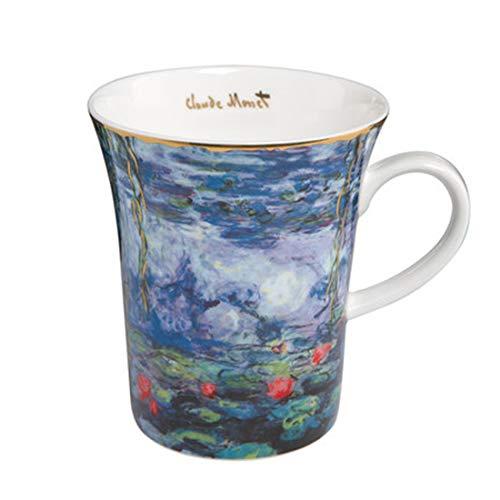 qwdf Keramiktasse Europäische Kaffeetasse Bürotasse Exquisites Porzellan Tasse Milch zum Frühstück - Gesicht Esel Milch