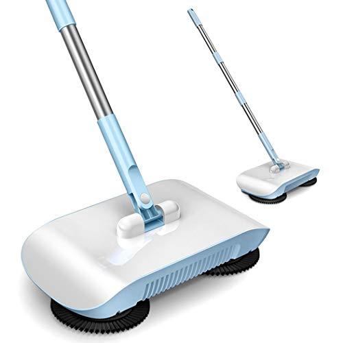 uswine 2 in 1 Hand Push Home Sweeper Besen Kehrschaufel Set Staubsauger Reinigungszubehör
