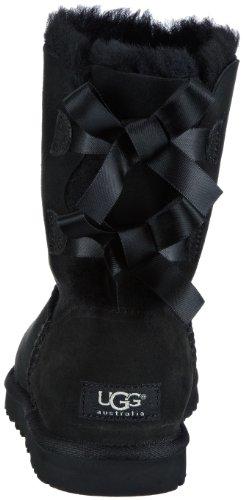 UGG W Bailey Bow 1002954 Damen Schlupfstiefel Schwarz (Black)