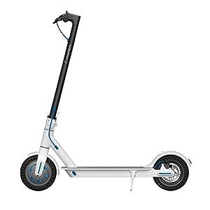 """Smartgyro Xtreme City White - Scooter Eléctrico 8,5"""" con Batería LG y ruedas macizas antipinchazos, color Blanco"""