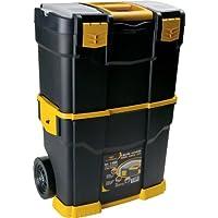 Art Plast 6700R caja de herramientas - cajas de herramientas (46 cm, 28 cm, 66,5 cm) Negro, Naranja