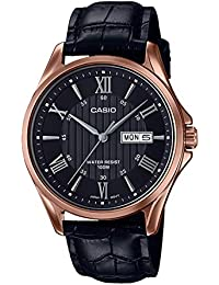 Casio Enticer Men's Analog Black Dial Watch-MTP-1384L-1A2VDF (A1407)