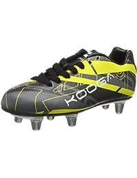 Kooga Advantage, Chaussures de Rugby Homme - Noir (Black/Blue), 42 EU