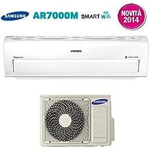 Climatizzatore Condizionatore Samsung Inverter Serie Ar7000M Smart Wifi A++ Ar18Hssdbwk 18000 Btu