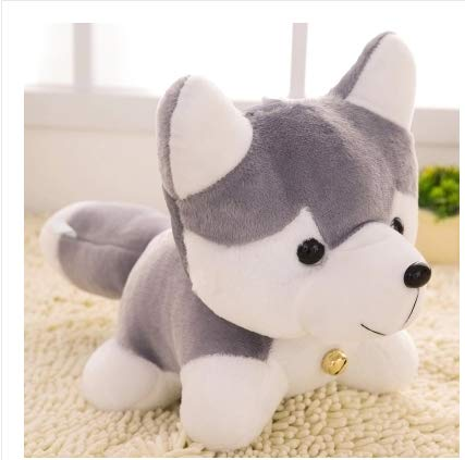 Plush Toy Husky Dove Dog Cute Ragdoll
