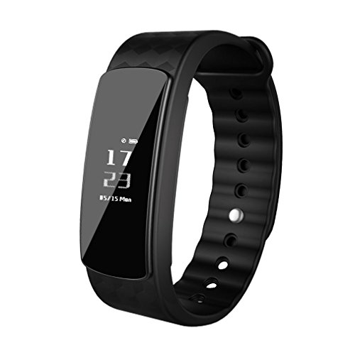 Sports Fitness Tracker LESHP, Pulsera deportiva con múltiples funcion