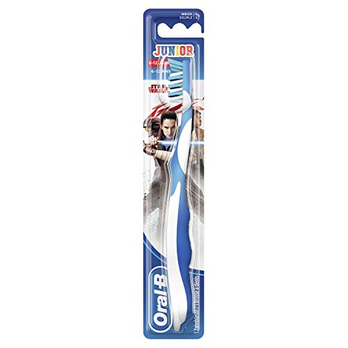 Oral B Manual Junior Handzahnbürste mit Figuren STAR WARS - Lot de 4