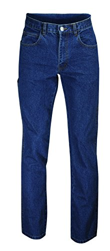 W.K.TEX. 852724046 Jeans-Bundhose mit Meterstabtasche, 46