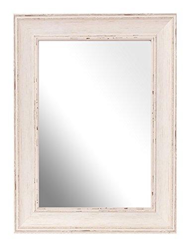 Inov8 A4 lavar British espejo marco de tamaño grande, madera de nogal,...