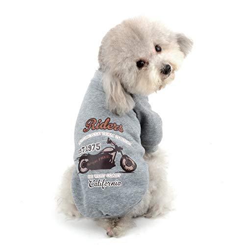SELMAI Hunde-Pullover aus Fleece, für Herbst und Winter, für kleine Katzen, Chihuahua, Yorkie -