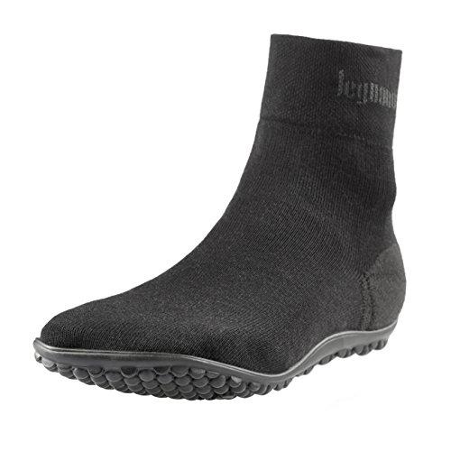 leguano Classic Schwarz | Barfußschuhe | Die Barfuß-Socken für Kinder, Damen und Herren