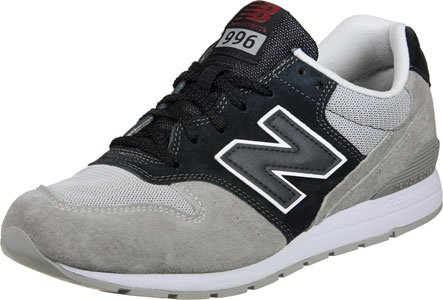 New Balance Herren Mrl996v2 Low-Top Grau Schwarz