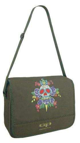 EyeCatchBags - Courier Style Urban Cross Body Bag Messenger bag Schultertasche Khaki