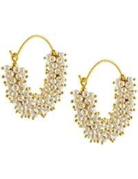 Royal Bling Inspired Polki Meenakari Earrings For Girls & Women