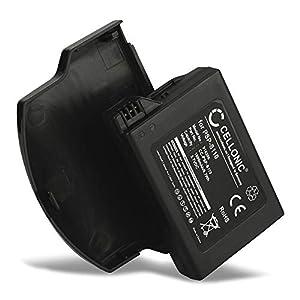 CELLONIC® XL Qualitäts Akku kompatibel mit Sony PSP Slim & Lite (PSP-2000 / PSP-2004) / PSP Brite (PSP-3000 / PSP-3004) (1800mAh) PSP-S110 Ersatzakku Batterie