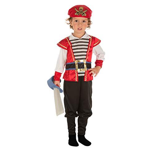 Viving Costumes Disfraz Pirata 3-4 204075
