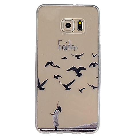 Coque Samsung Galaxy S7 Gel de Silicone Housse, Coffeetreehouse (motifs