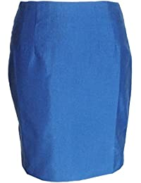 47a75b771675 Relco Ladies Retro MOD Blue Black Tonic Pencil Skirt