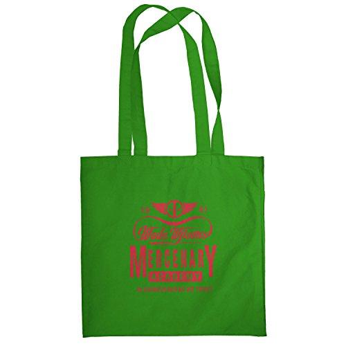TEXLAB - Wade Wilson's Mercenary Academy - Stoffbeutel, grün