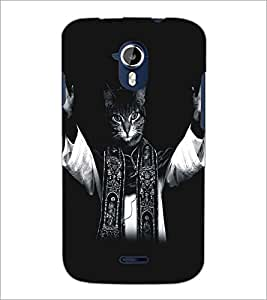 PRINTSWAG CAT Designer Back Cover Case for MICROMAX A116 CANVAS HD