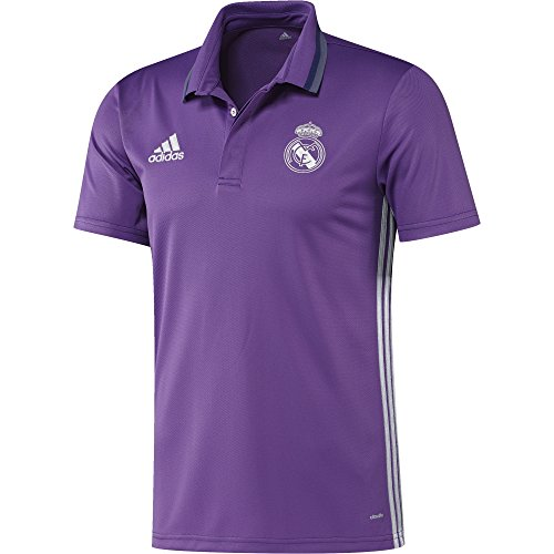 adidas Real Madrid Cf Cl - para hombre, color morado / blanco, talla L