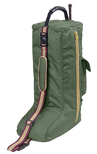 Derby Originals Gepolsterte Stiefel mit 3 Schichten, Hunter Green - Hunter Green-drei Taschen